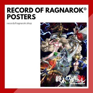 Record Of Ragnarok Posters