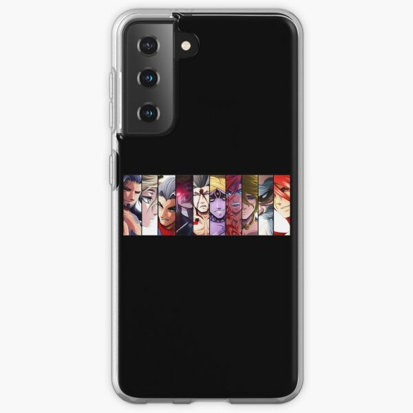 Record Of Ragnarok all Characters Samsung Galaxy Soft Case RB1506 product Offical Berserk Merch
