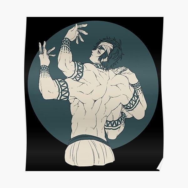 Shiva Record Of Ragnarok Poster RB1506 product Offical Berserk Merch