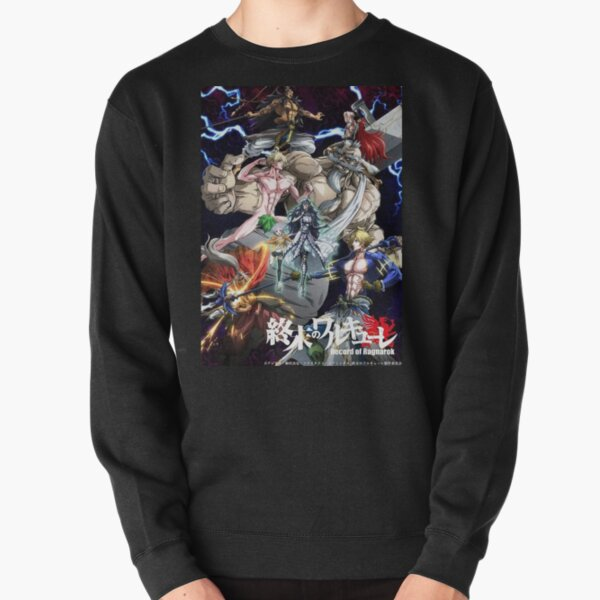 Anime Record Of Ragnarok Pullover Sweatshirt RB1506 product Offical Berserk Merch