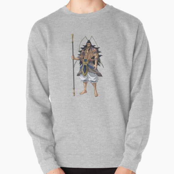 Shuumatsu no Valkyrie: Record of Ragnarok Lu Bu Pullover Sweatshirt RB1506 product Offical Berserk Merch