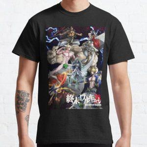 Anime Record Of Ragnarok Classic T-Shirt RB1506 product Offical Berserk Merch