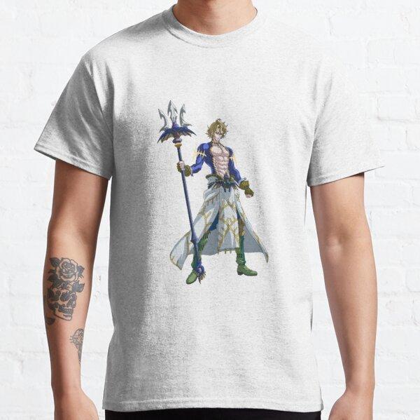 Shuumatsu no Valkyrie: Record of Ragnarok Poseidon Classic T-Shirt RB1506 product Offical Berserk Merch