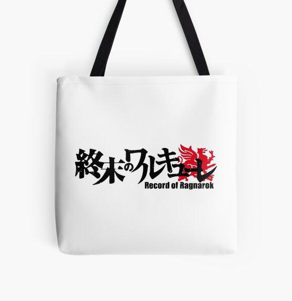 Shuumatsu no Valkyrie: Record of Ragnarok Logo All Over Print Tote Bag RB1506 product Offical Berserk Merch