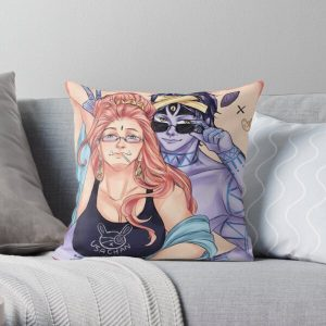 Buddha and shiva Throw Pillow RB1506 product Offical Berserk Merch