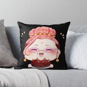 Buddha Record of Ragnarok Throw Pillow RB1506 product Offical Berserk Merch