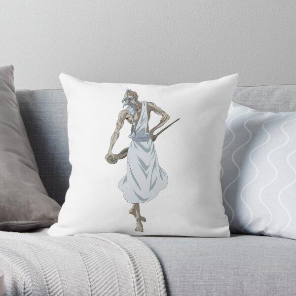 Shuumatsu no Valkyrie: Record of Ragnarok Zeus Throw Pillow RB1506 product Offical Berserk Merch