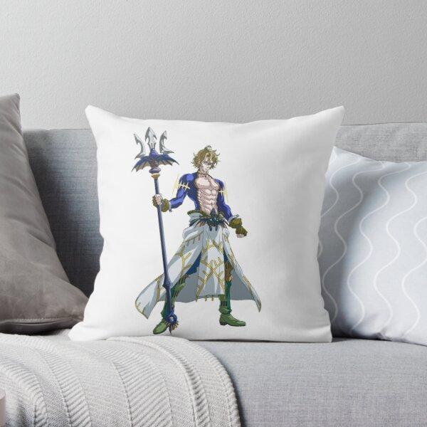 Shuumatsu no Valkyrie: Record of Ragnarok Poseidon Throw Pillow RB1506 product Offical Berserk Merch