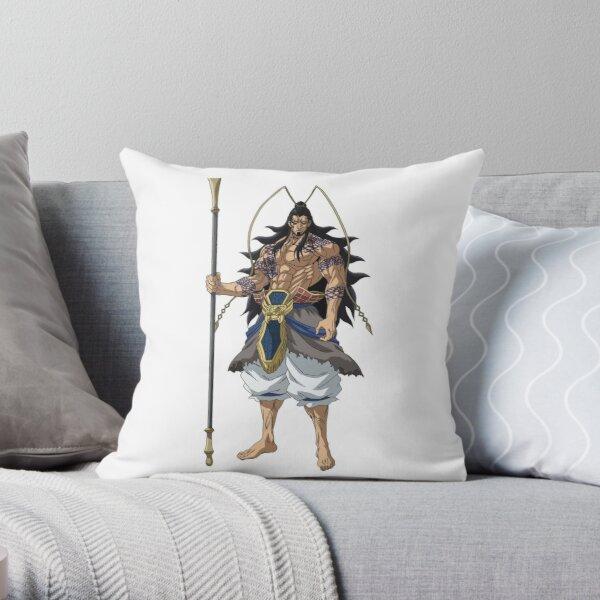 Shuumatsu no Valkyrie: Record of Ragnarok Lu Bu Throw Pillow RB1506 product Offical Berserk Merch