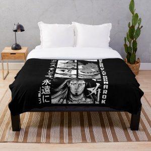 Lu Bu record of ragnarok Throw Blanket RB1506 product Offical Berserk Merch