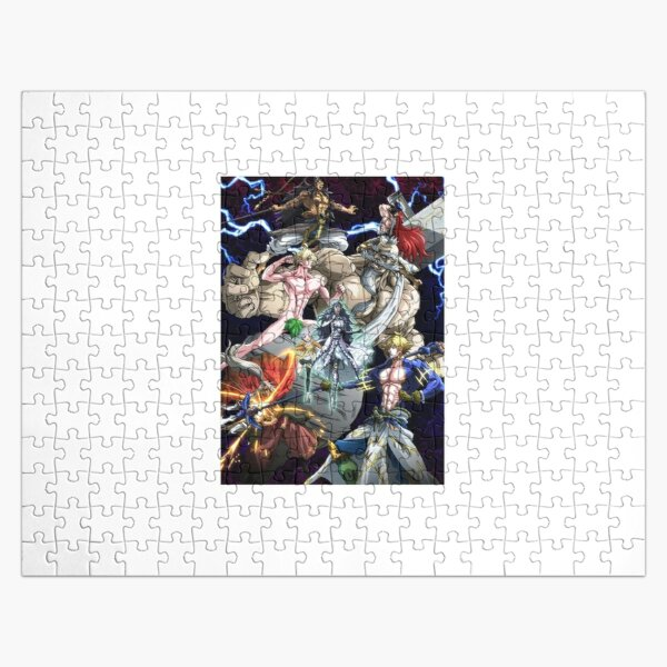Shuumatsu no Valkyrie Jigsaw Puzzle RB1506 product Offical Berserk Merch
